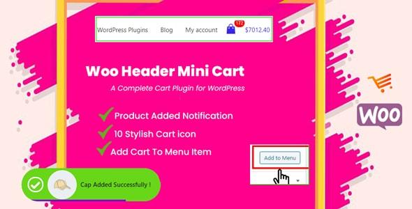 woo header cart